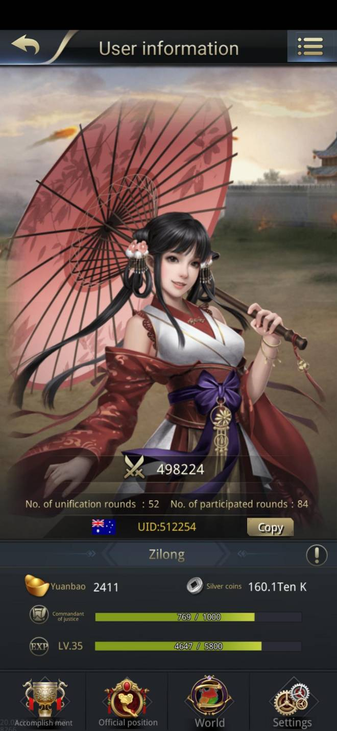 Three Kingdoms RESIZING: Limited General Board [Xiao Qiao], END - Zilong/512254/Channel 5 image 1