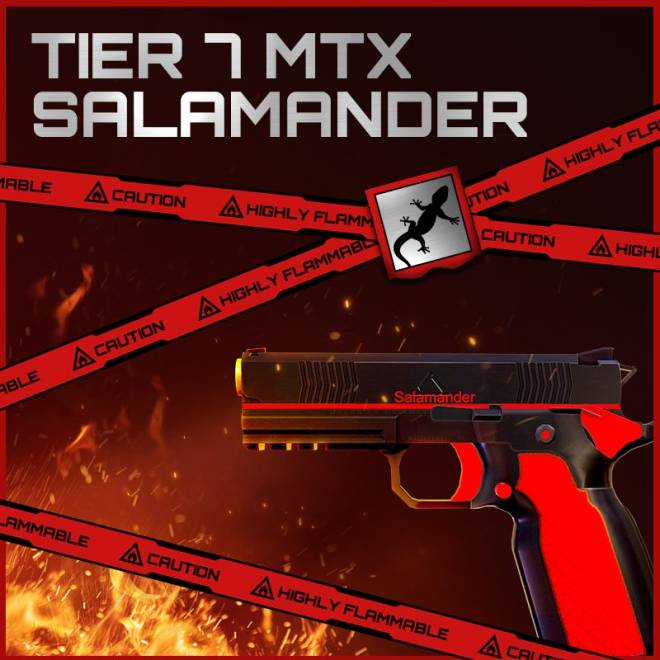 ENG Critical Ops: Reloaded: Announcements - [Skin Update #9] Red Blossom / Salamander  image 2
