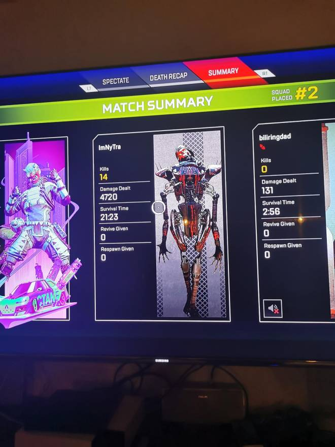 Apex Legends: Looking for Group - Lookin for very good European players for my friend list. My best games are below.  image 3