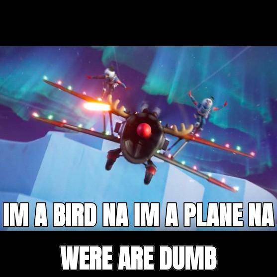 Fortnite: General - Not this again i hate planes image 1
