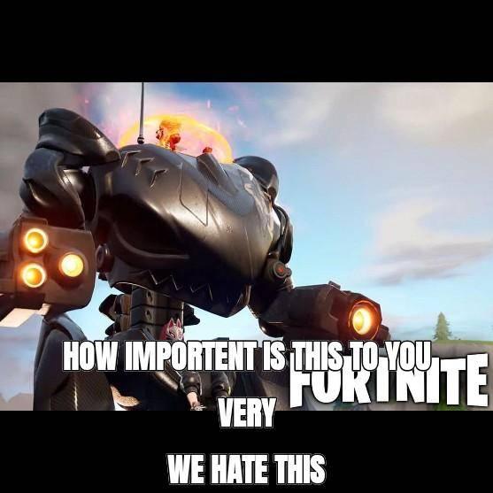 Fortnite: General - Mecs are back image 1