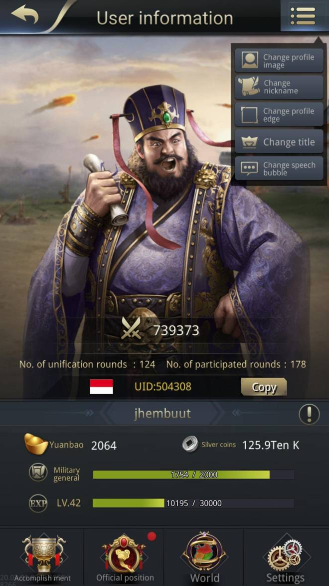 Three Kingdoms RESIZING: Limited General Board [Dong Zhou], END - Jhembuut /504308/ this is my lovely heroes image 1