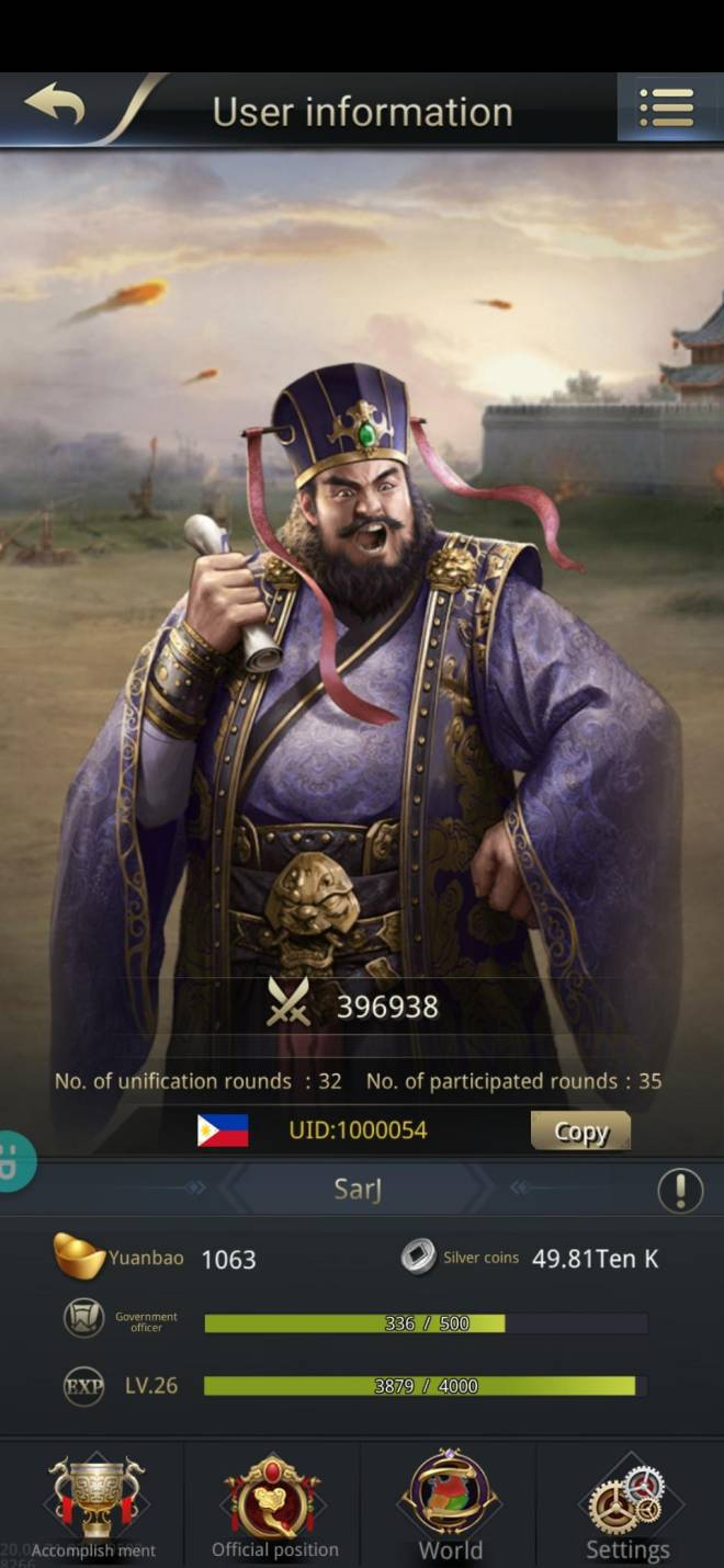 Three Kingdoms RESIZING: Limited General Board [Dong Zhou], END - SarJ/1000054/hello my lord image 1