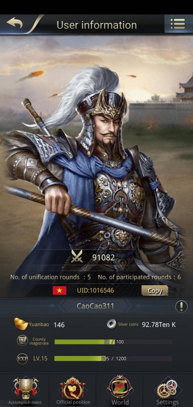 Three Kingdoms RESIZING: Join & Greeting Board - CaoCao311 image 2