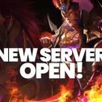 [New Server Open] - Server X10