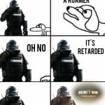 When you used to be a cav main but switched to rook