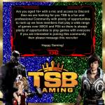 TSB RECRUITMENT