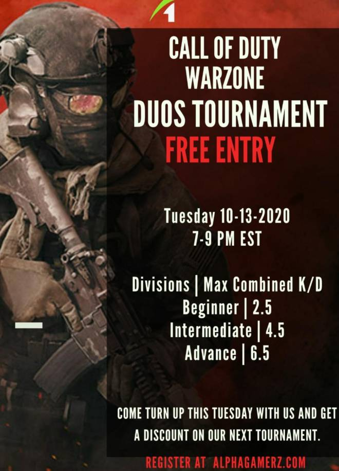 Call of Duty: Event - Free Warzone tournament image 2