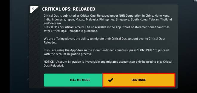 JP Critical Ops: Reloaded: Announcement - 「Critical Ops : Reloaded」ベテラン報酬の案内 image 6