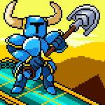 Shovel Knight but just Art