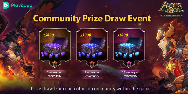 Along with the Gods: Knights of the Dawn: Events - Moot Community Prize Draw Event Winners image 1