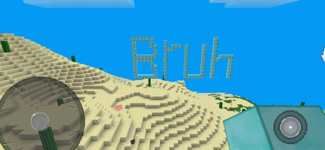 Minecraft: General - If u guess the word u need to lick the like button  image 1