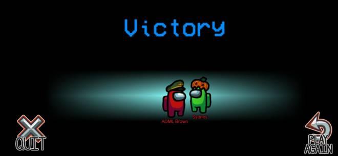 Among Us: Posts - I won both games lol image 2