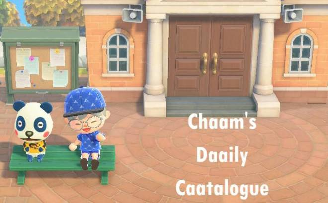 Animal Crossing: Posts - Chaam's Daaily Caatalogue #6 image 1