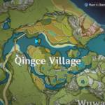 Solve Qingce Village simple riddle and get a chest