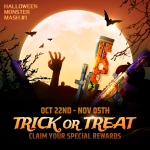 [Event] 2020 Halloween TRICK OR TREAT Event is now Live!