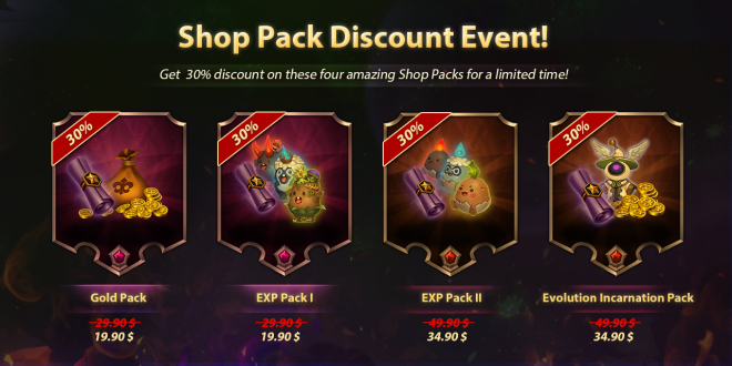 Along with the Gods: Knights of the Dawn: Notice - Shop Pack - Mega sale!  image 1