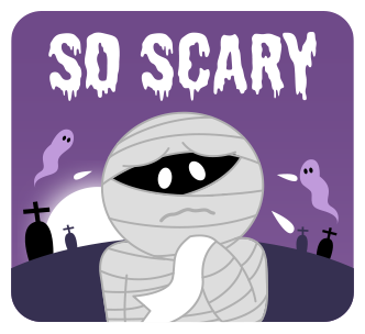 Scared Mummy