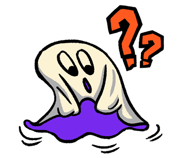 Ghost Confused