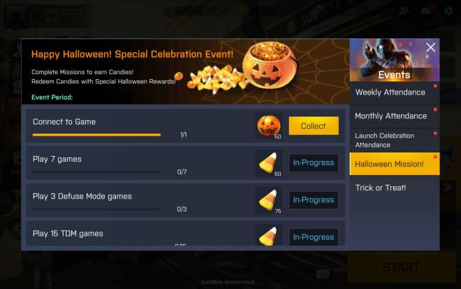 ENG Critical Ops: Reloaded: Event - [Event] 2020 Halloween TRICK OR TREAT Event is now Live! image 5
