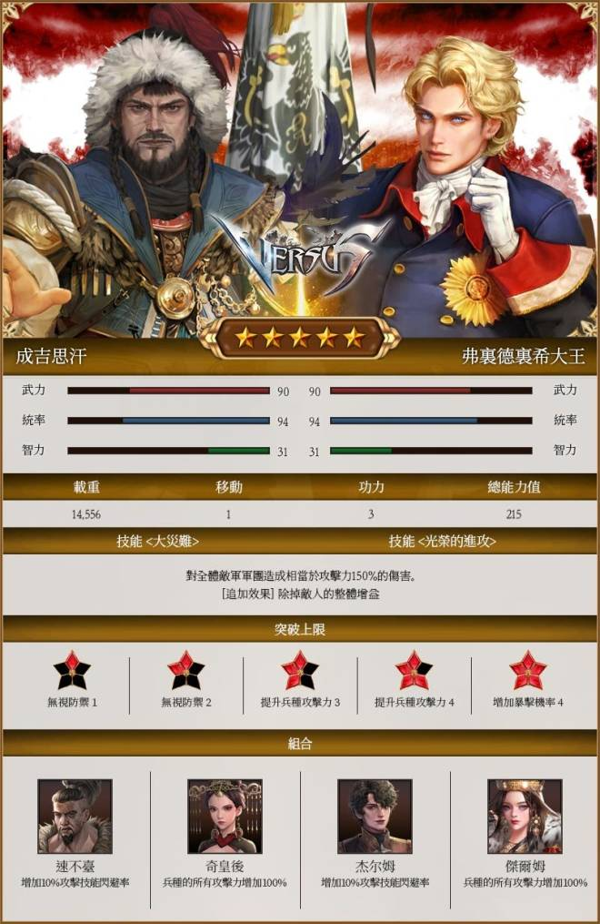 VERSUS : REALM WAR [TW]: Announcement - [Tzar, Khan] 服務器新將帥出現! image 3