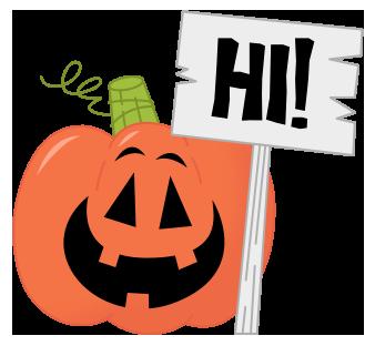 Pumpkin Hello