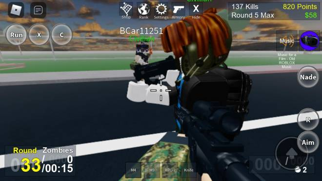 Roblox: General - Me and my bro advengers part 1 image 2
