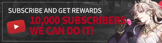 Lucid Adventure: ◆ Event - Subscribe and get rewards! Official Youtube Channel 10,000 Subscribers Event  image 1