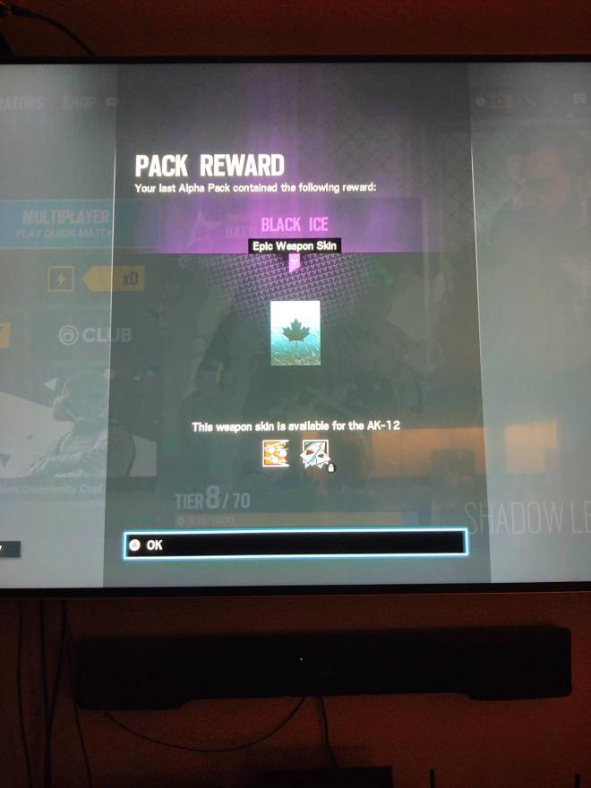 Rainbow Six: General - My first black ice not one but two in a row image 2