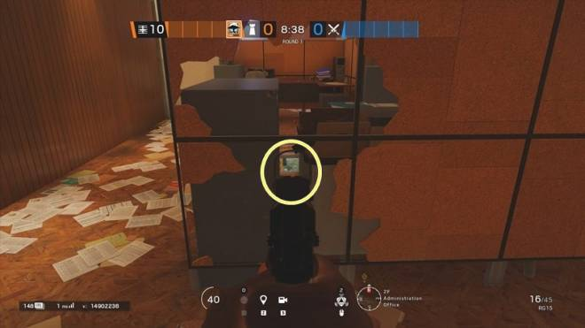 Rainbow Six: Guides - Guide on playing 'Melusi' in 'Consulate' image 34