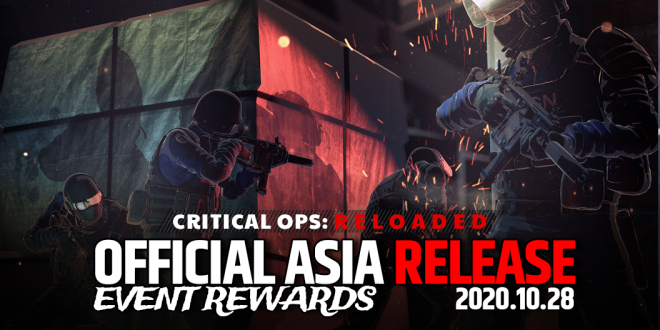 ENG Critical Ops: Reloaded: Event - [Event] Official Launch Event Rewards are here! image 1