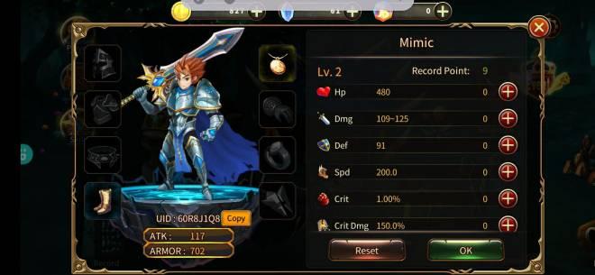 Element Blade: - Join & Greeting Board - Nickname: Mimic UID: 60R8J1Q8 image 1