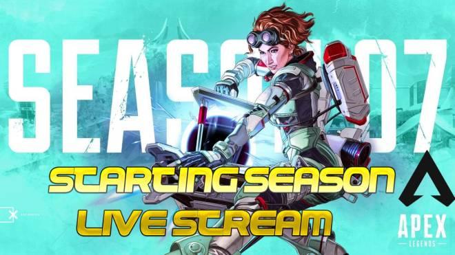 Apex Legends: General - Season 7 Apex Legends live stream image 4