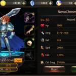 Nickname: NovaChrome UID:63GI3ONU Player Level 30!