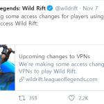 Oh wow... No more Wild Rift