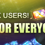 Welcome Back! Special Reward for all Users!