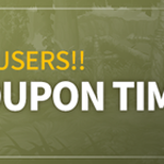 Welcome Back Users!! Special Coupon Time!