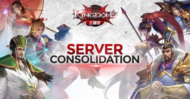 Kingdoms M: Notice - 13 Nov - Server Merge image 1