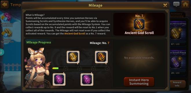 Along with the Gods: Knights of the Dawn: Events - Double Mileage Event Returns! image 3