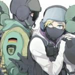 GSG 9 | R6S | Rainbow six siege anime, Rainbow six siege art