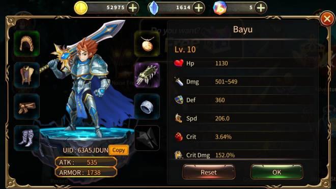 Element Blade: - Join & Greeting Board - Nickname : Bayu UID : 63A5JDUN image 1