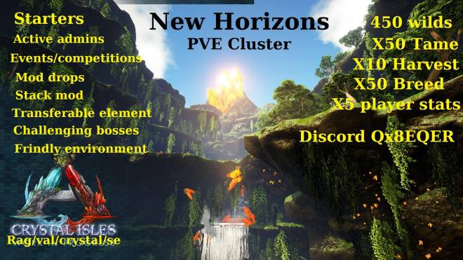ARK: Survival Evolved: General - PS4 unofficial cluster new horizons  image 3