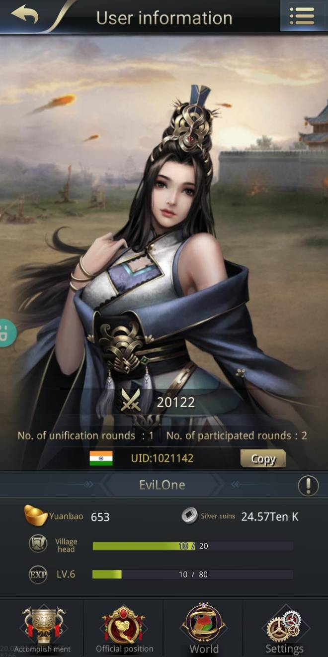 Three Kingdoms RESIZING: Join & Greeting Board - Uid 1021142 image 1