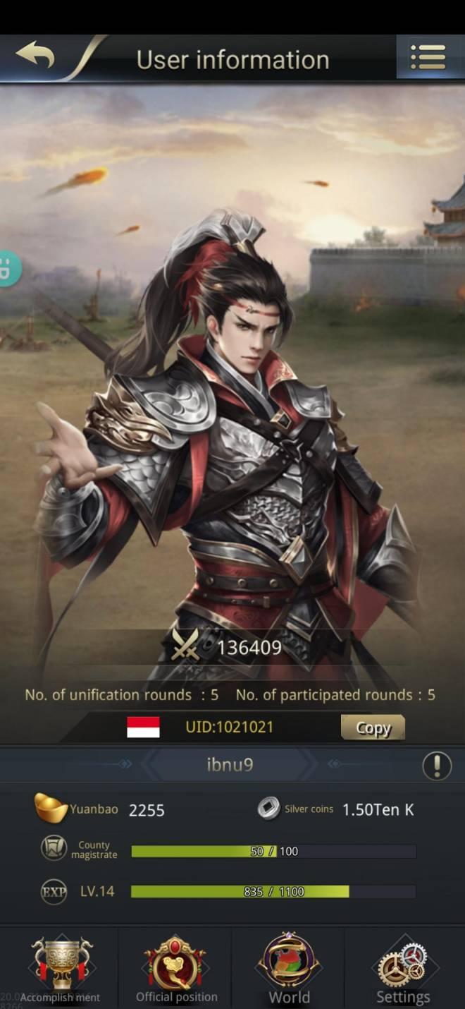 Three Kingdoms RESIZING: Join & Greeting Board - ibnu9/CH10/1021021 hai image 1