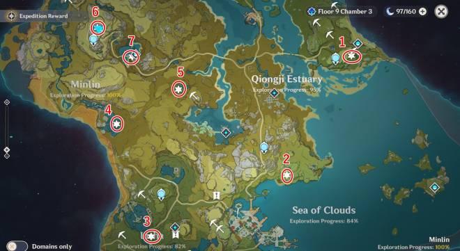 Genshin Impact: Posts - 15 Unusual Hilichurls respawn locations image 3