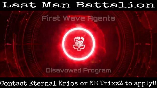 Halo: Looking for Group - [ Last Man Battalion Recruitment ]  What is the Last Man Battalion?  • The Last Man Battalion (LMB)  image 4