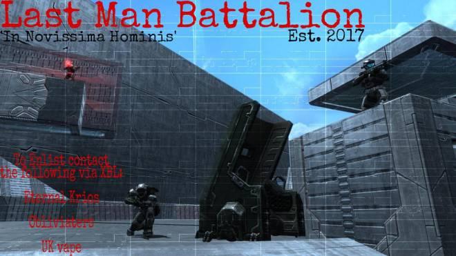 Halo: Looking for Group - [ Last Man Battalion Recruitment ]  What is the Last Man Battalion?  • The Last Man Battalion (LMB)  image 3