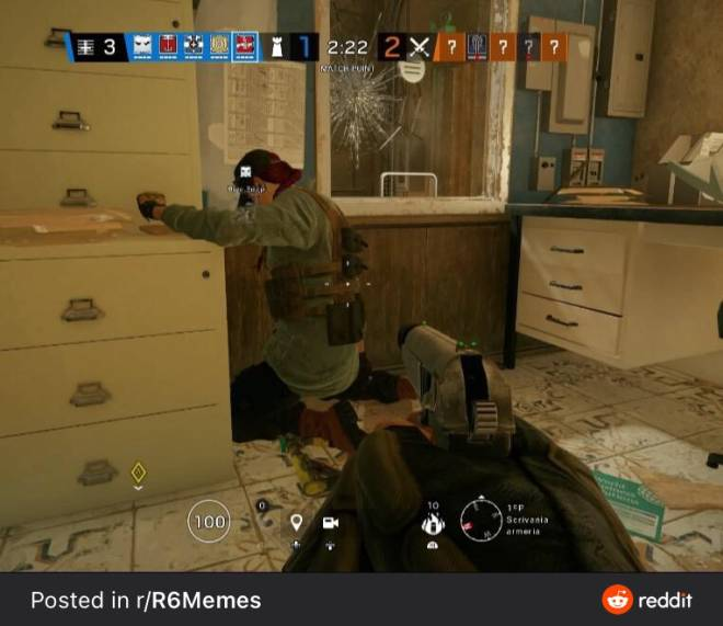 Rainbow Six: General - When ash's acog got removed image 2