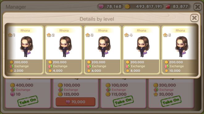 """My Secret Bistro: ● FAQ - [FAQ] Learn more about the Income Decor """"Manager"""" Feature! image 5"""