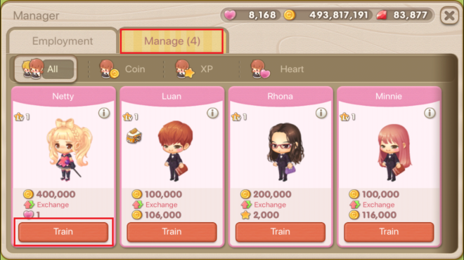 """My Secret Bistro: ● FAQ - [FAQ] Learn more about the Income Decor """"Manager"""" Feature! image 18"""